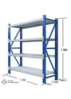 L 1.5M x W 0.6M x H 1.8M  Blue/Grey