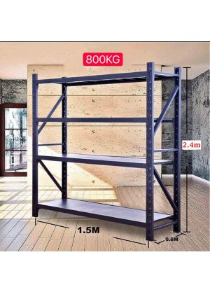 L 1.5M x W 0.6M x H 2.4M - Charcoal