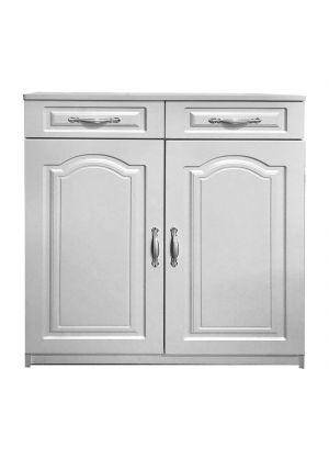 2 DOOR SHOE CABINET-#208