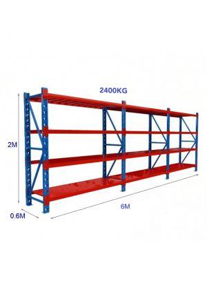L 6M x W 0.6M x H 2M - Blue/Orange
