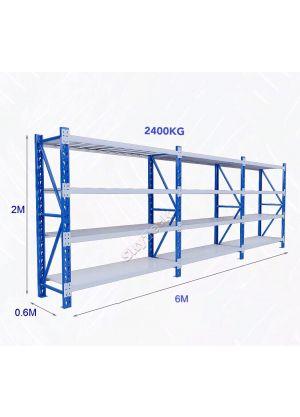 L 6M x W 0.6M x H 2M - Blue/Grey