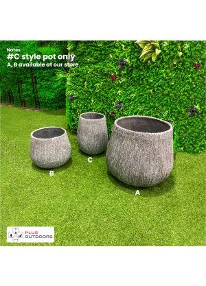Moden Outdoor Fibreglass Garden S699 #C Design