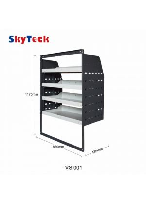 Van shelving Guard 4 Shelf Trays Steel Racking Storage VS001