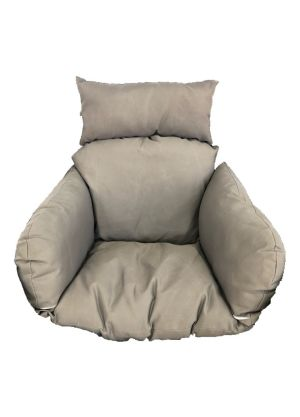 Single Pod Chair Armrest Cushion - Charcoal