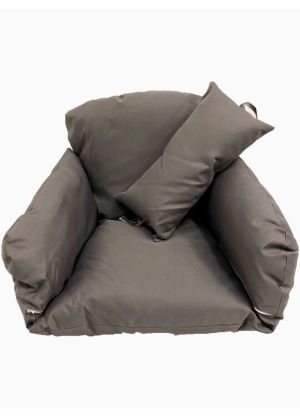 Single Pod Chair Armrest Cushion - Dark Charcoal