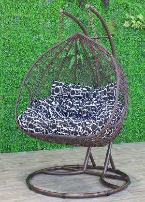 Double Bird Nest Pod Chair