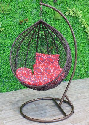 Sphere Bird Nest Egg Chair-Brown
