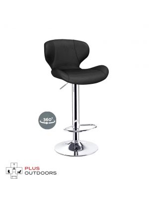 Bar Stools Kitchen Stool Leather Barstools Swivel Chairs Gas Lift