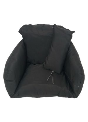 Single Pod Chair Armrest Cushion - Black Colour