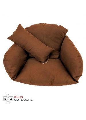 Single Pod Chair Armrest Cushion - Brown
