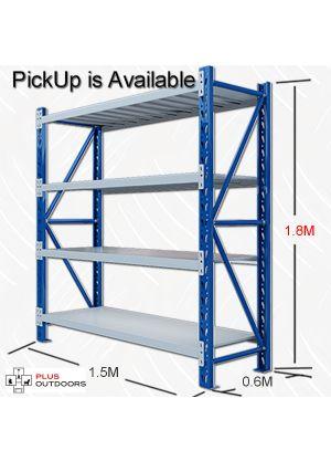 L 1.5M x W 0.6M x H 1.8M - Blue & Grey