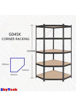5 Tier Adjustable Shelving Corner