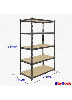 5 Tier Adjustable Shelf 120CM (W)