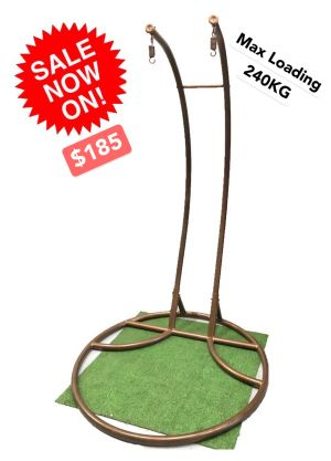 Swinging Chair Pole and Base-Double Egg Chair stand