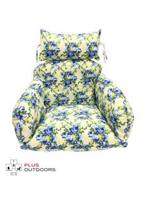 Single Pod Chair Armrest Cushion - Flower