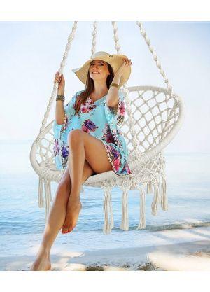 Hanging Hammock Chair Outdoor/Indoor -White