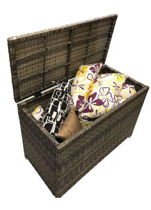 Outdoor Natural Wicker Storage Box