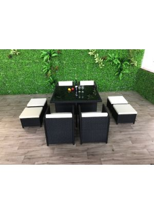 Charlton 9 Piece Outdoor Square Setting