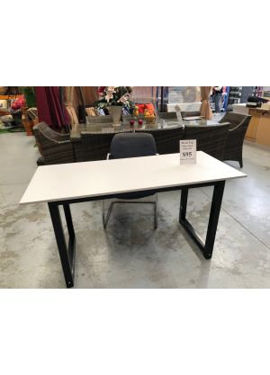 Modern Simple Office Desk White
