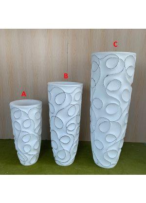 Brand New Fibreglass Home Garden Plant Pot For Indoor & Outdoor - C