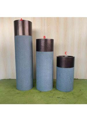 Brand New Indoor & Outdoor Planter Fibreglass Garden Plant Pot - C