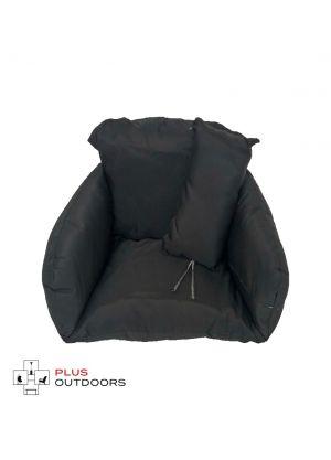 Single Pod Chair Armrest Cushion - Black