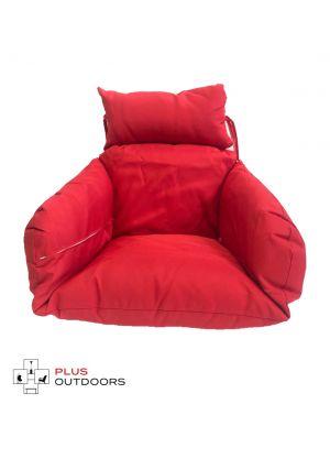 Single Pod Chair Armrest Cushion - Red