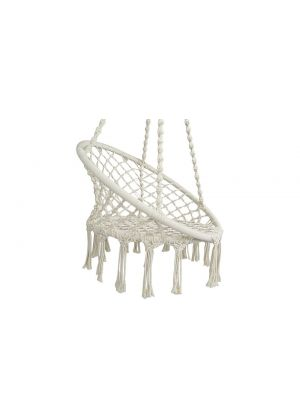 Safe Hanging Hammock Chair Outdoor/Indoor -White