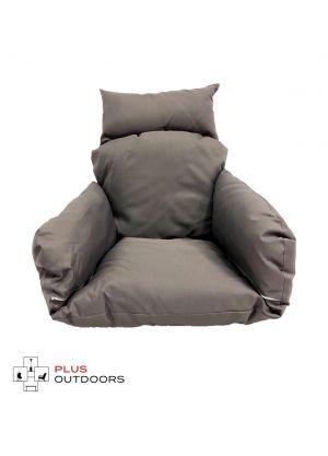 Single Pod Chair Armrest Cushion - Dark Charcoal