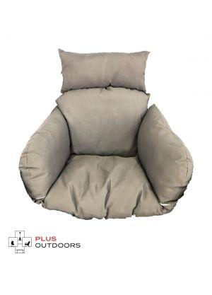 Single Pod Chair Armrest Cushion - Charcoal