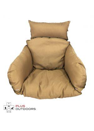 Single Pod Chair Armrest Cushion - Mocha