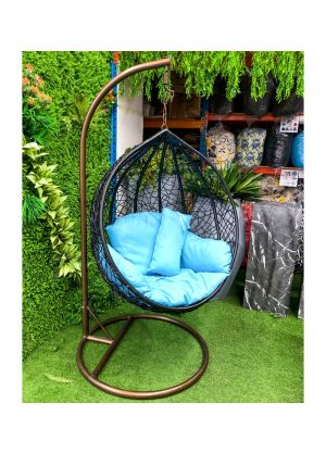 SPHERE BIRD NEST EGG CHAIR- MEDIUM (BLACK) #85M