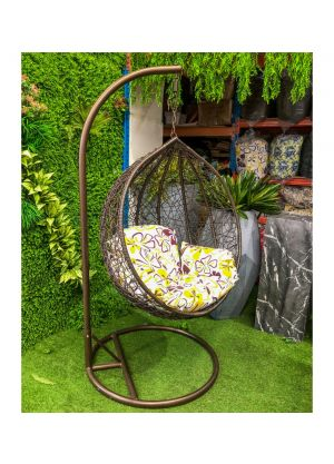 SPHERE BIRD NEST EGG CHAIR- MEDIUM (BROWN) #86M