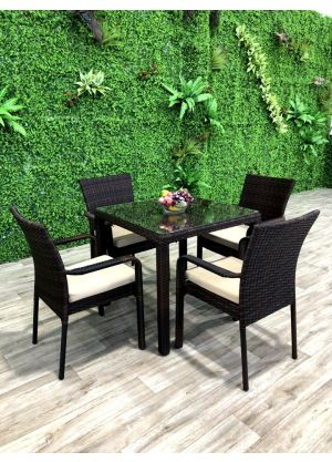 Tuscan 5 Piece Outdoor Dining Set