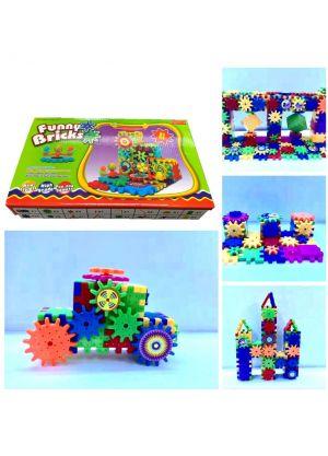 Funny Bricks Electric Gear Building Blocks Educational Toy