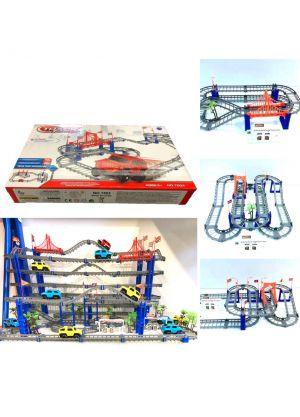 Track Speed Cornering DIY Racing Car Model + Extra 1 mini car