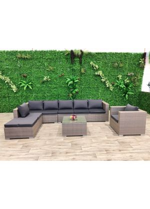 Milano 7 Piece Outdoor Lounge Set