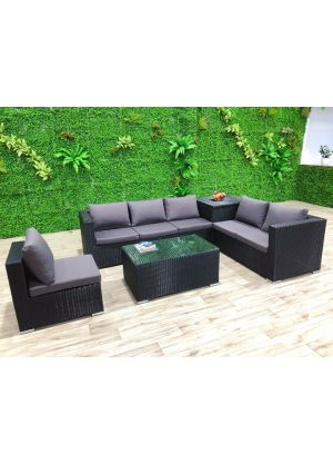 Modena 6 Piece Outdoor Lounge Set