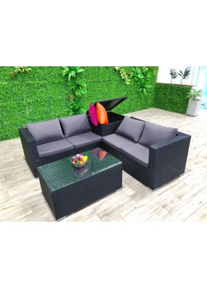 Modena 4 Piece Outdoor Lounge Set