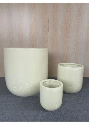 143 (one for tree) Set Garden Pot Fibreglass Home Garden Pot For Indoor & Outdoor Use