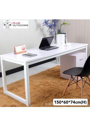 1.5 m Modern Simple Office Desk White