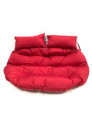 Double Pod Chair Cushion - Red