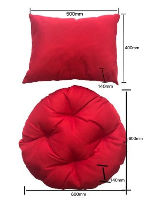 Single Pod Chair Cushion - Red