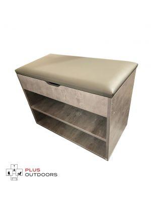 Cabinet Shoes Shoe Bench Wooden Box Organiser Storage Rack Shelf - G