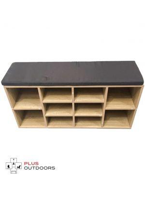 Shoe Cabinet Bench Shoes Storage Rack Organiser Shelf Cupboard Wood