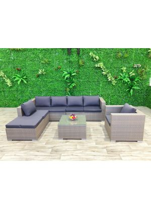 Milano 6 Piece Outdoor Lounge Set
