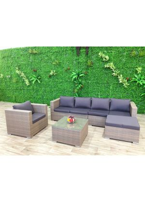 Milano 5 Piece Outdoor Lounge Set