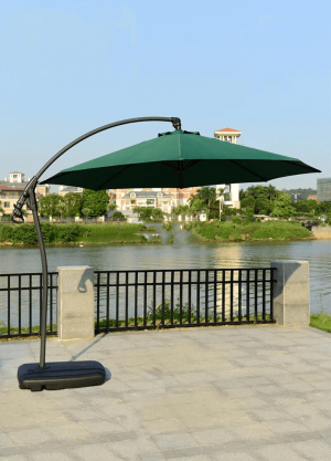 Eclipse Octagonal Outdoor Cantilever Umbrella