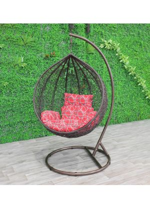 Sphere Bird Nest Egg Chair-Brown # 86
