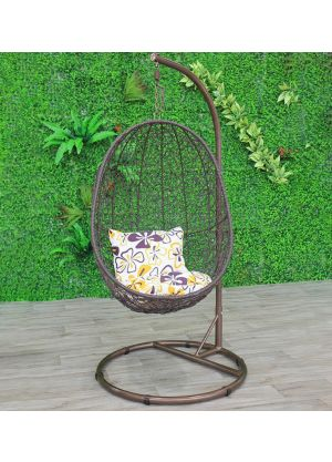 Pendant Bird Nest Pod Chair-Brown #92